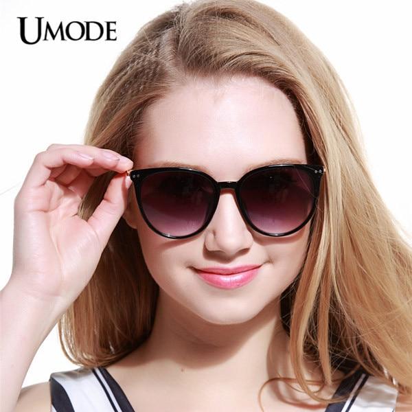 9f8d2cf79276a Umode UV400 Protect Erika Cat Eye Women Blue Sunglasses Mirror Sunglasses  Female Gafas Masculino Aviador Oculos De Sol SW0119-in Sunglasses from  Apparel ...
