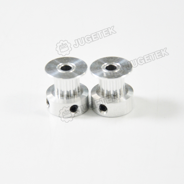 5pcs/lot GT2 Alloy Timing Pulley with 12 Tooth 4mm Bore for 6mm Belt  Hot Sales High Quality for 3D Printer Part