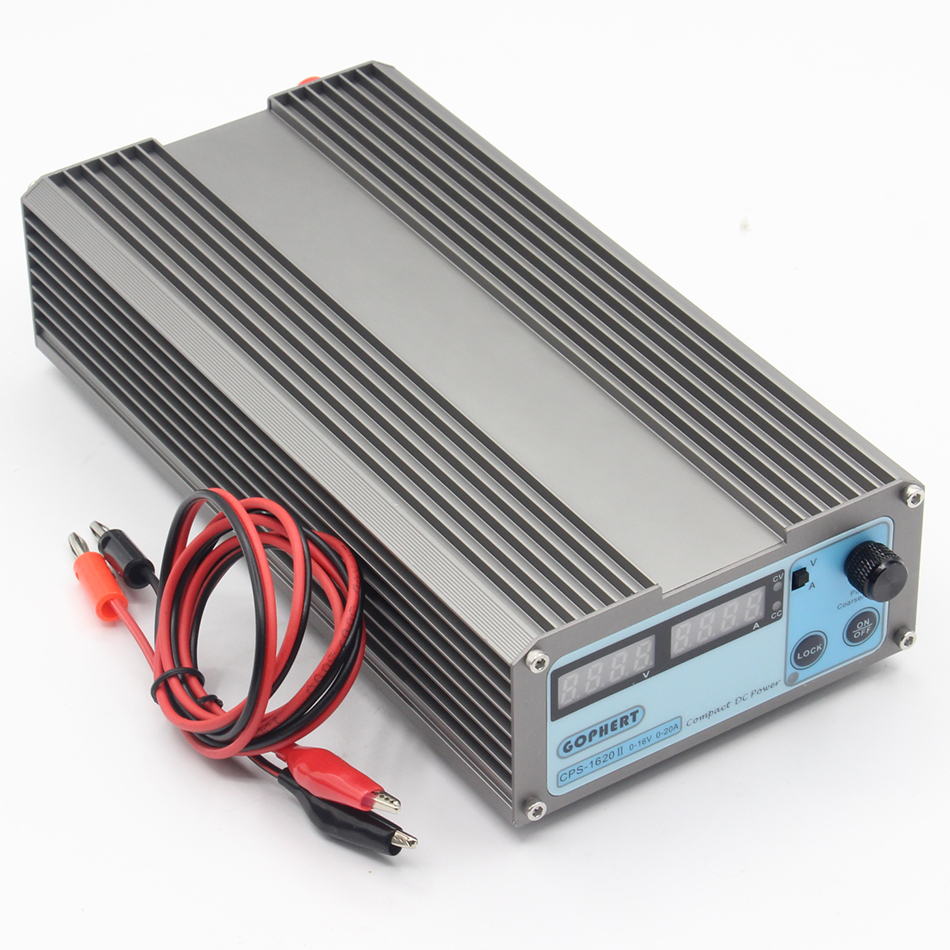 Image 3 - CPS 1620 Mini Digital Adjustable Switching DC Power Supply OVP/OCP/OTP low power 0  16V 0 20A-in Switching Power Supply from Home Improvement