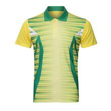 Chiny Sportswear szybkie suche oddychająca Koszulka Badminton koszulki kobiety mężczyźni siatkówka Golf tenis stołowy koszula ubrania mężczyźni koszulki tanie tanio Unisex Pasuje do rozmiaru Weź swój normalny rozmiar QO-91