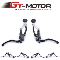GT Motor Motorcycle 19X18 Brake Adelin Master Cylinder Hydraulic 16x18 Clutch Master Cylinder FOR HONDA R6