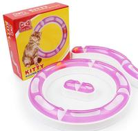 New Fun Cat Pet Dog Baby Track And Ball Toys Chase Game Hagen Catit Design Senses