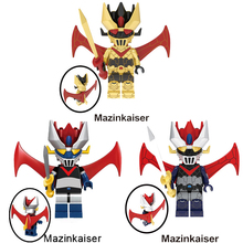 Single Sale Cartoon Anime Movie Minifigs Mazinkaiser Figure compatible Bricks Building Blocks For Children Toys Best Gift JM-96 кеды с ананасами синие in extenso
