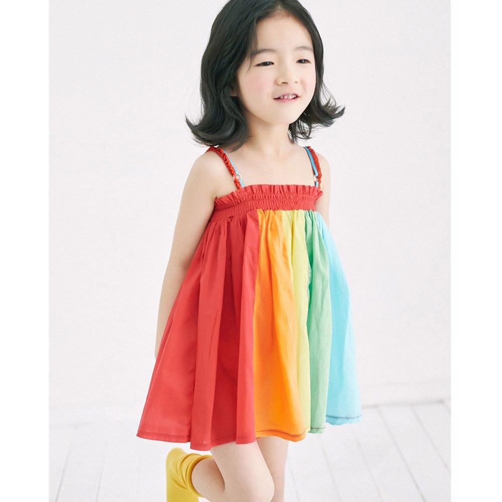 c504aedc7 weLaken Summer Kids Dresses Patchwork Children s Apparel Girl ...
