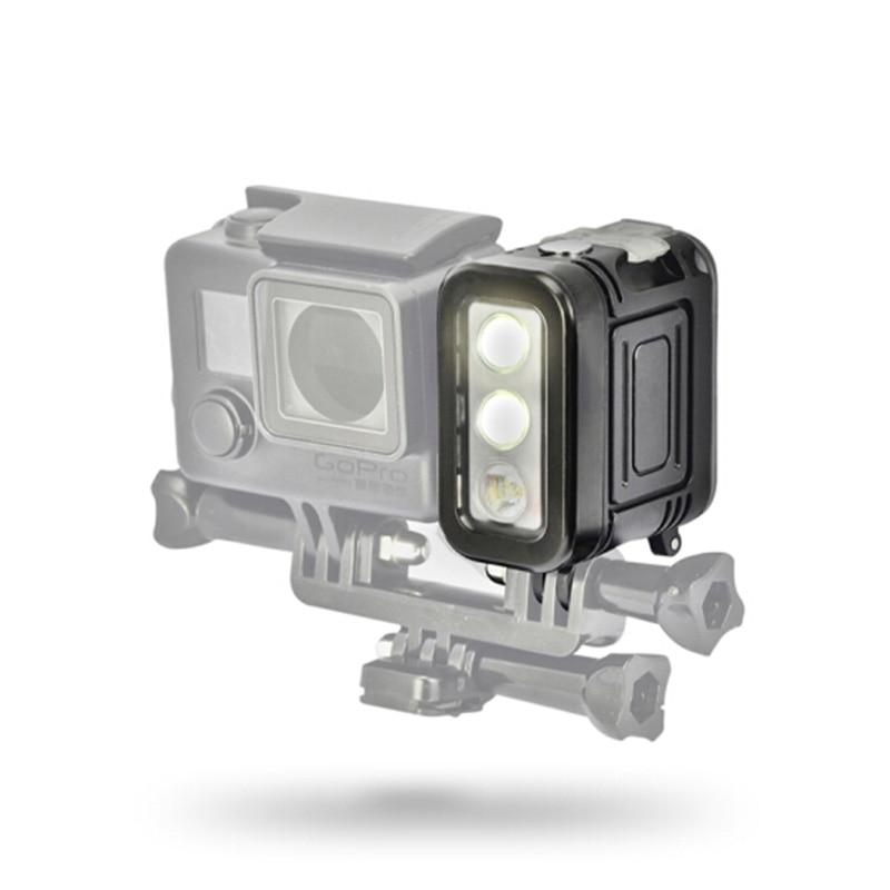 ARCHON DV400 Diving Light LED Flashlight Outdoor Camera Photography Fill Light Lighting Underwater Video Light Torches 10w 500lm 150 led professional camera video fill light black