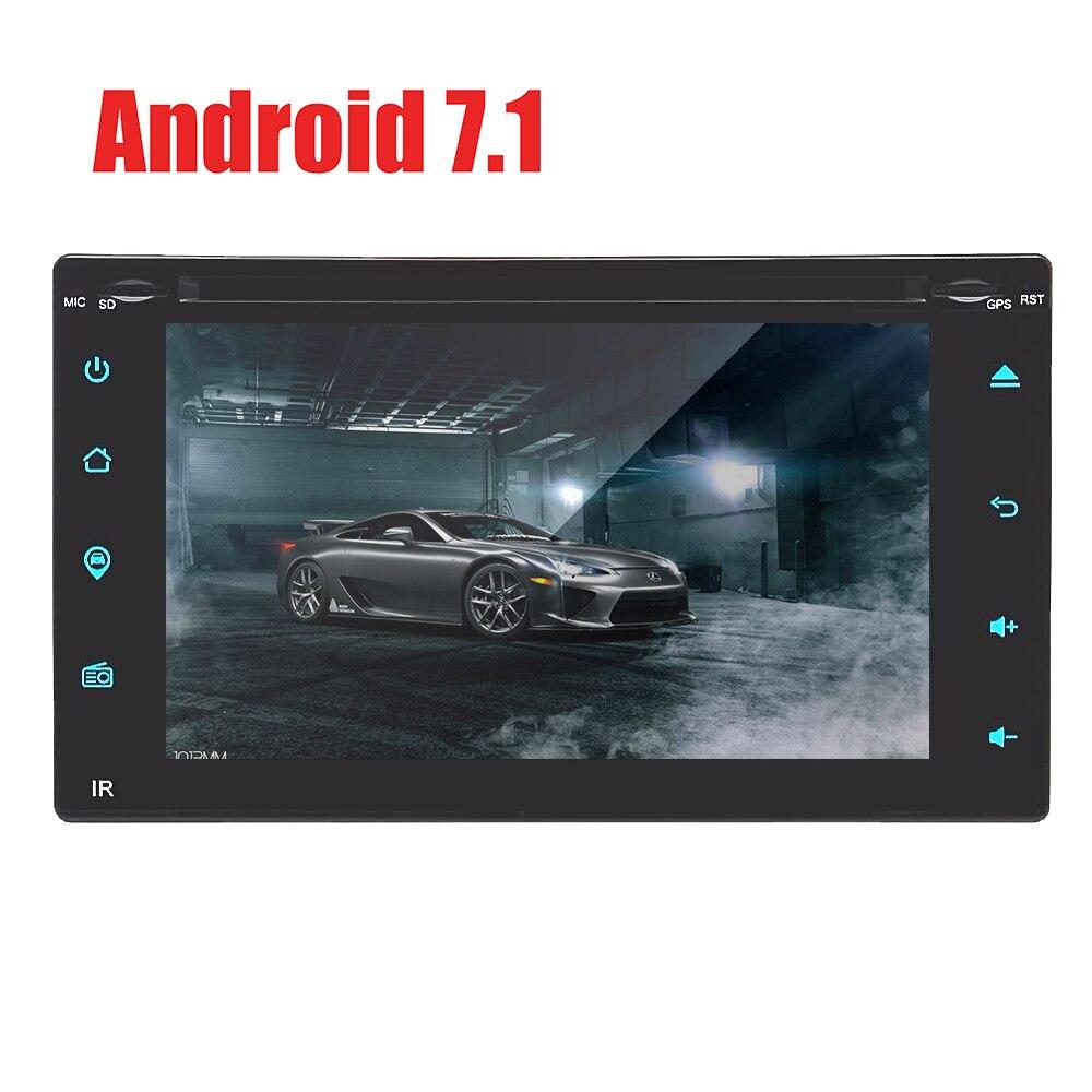 Pour Peugeot 307 écran tactile Android 7.1 lecteur dvd de voiture gps Bluetooth FM