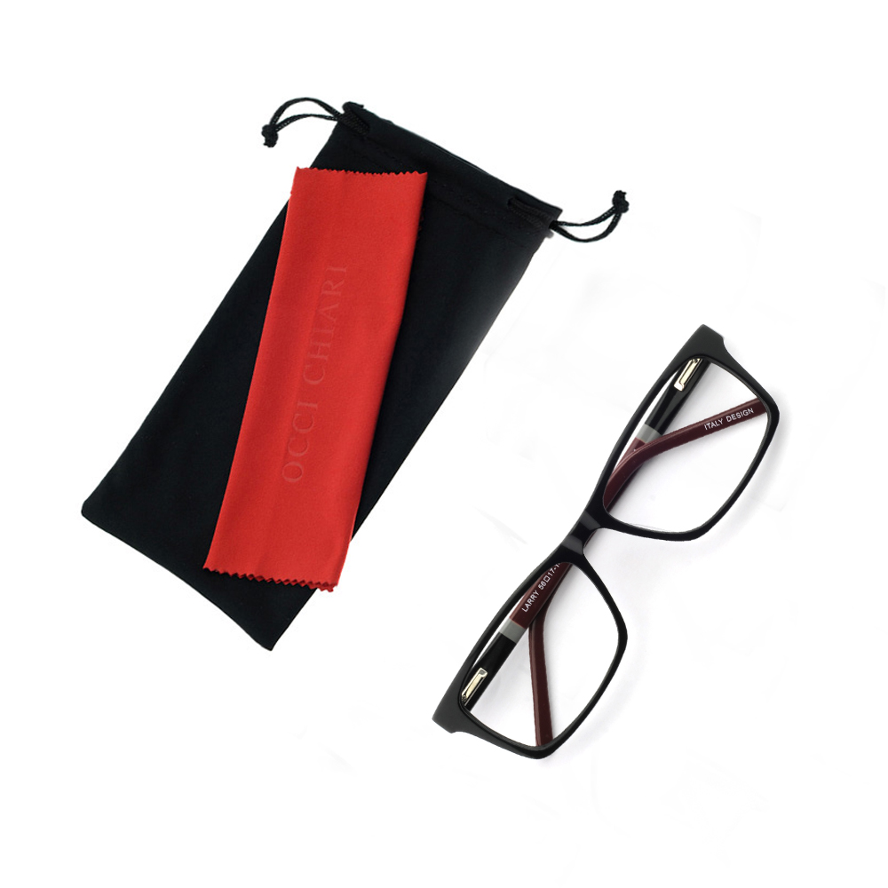 Image 5 - NEW DESIGN Fashion Men Square Metal Frames Optical Glasses Transparent Clear Lens reading Glasses OCCI CHIARI OC7007-in Men's Eyewear Frames from Apparel Accessories