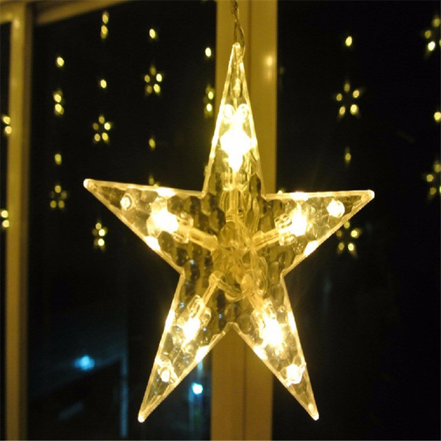 Christmas Decorations for Home Lights Outdoor Led String Warm White Adornos Navidad Natal Decoracion Kerst 12 Lamp