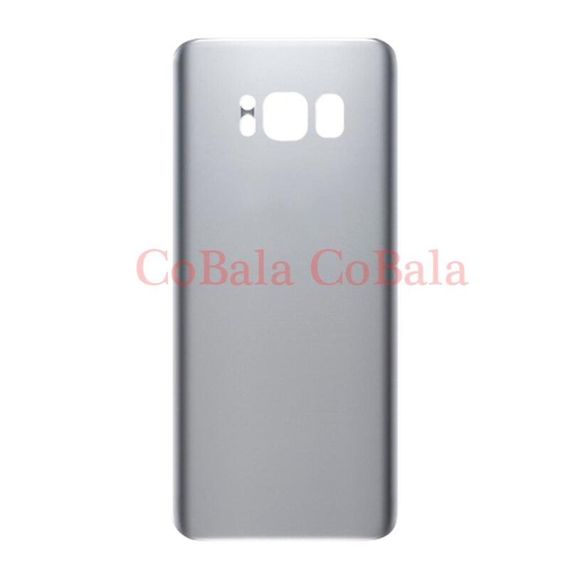 imágenes para 1 Unids Original Para Samsung Galaxy S8 + S8 Más G955 G955F La Contraportada de la Batería Caso de Vivienda de Puerta Trasera Panel Con Adhesivo etiqueta