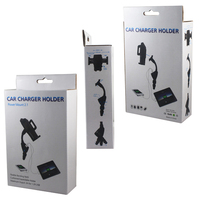Rotary 2A Dual USB Mobile Phone Car Lighter Charger Holder Stands For Doogee Y300 X5S X3