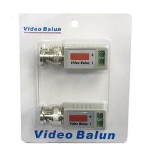 Один 1 канал пассивный видео трансивер BNC разъем коаксиальный адаптер для балун CCTV камера DVR BNC UTP