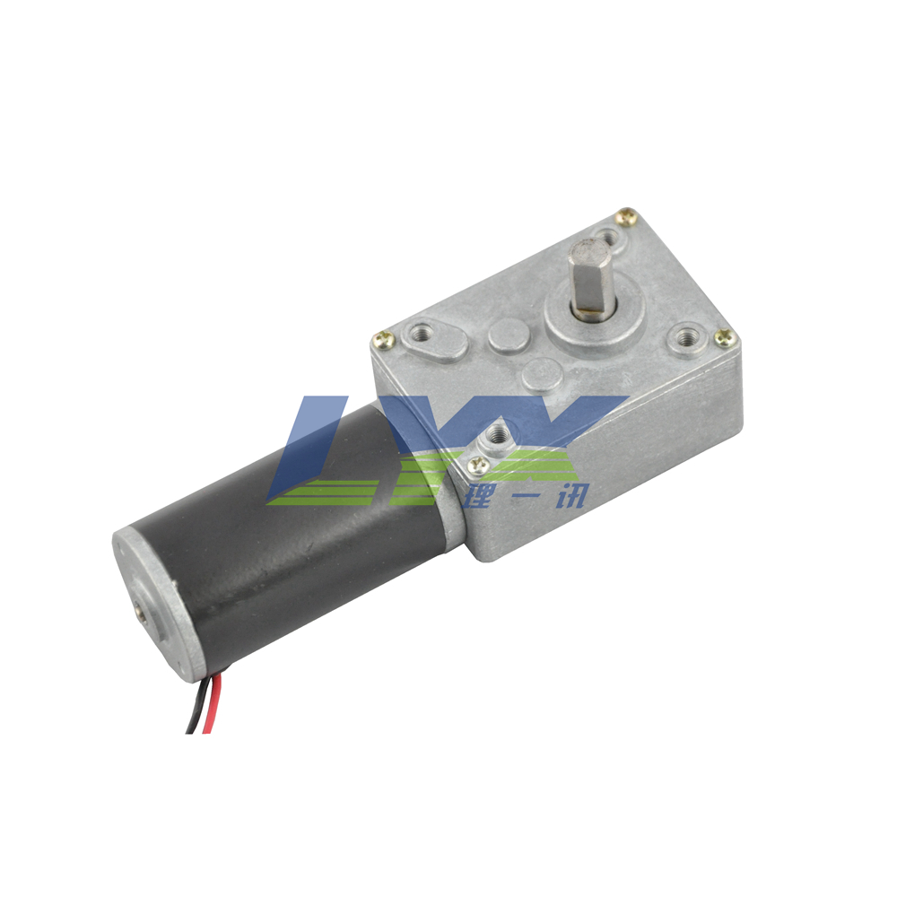LX31WG 12V 5RPM  Low speed high torque dc motor,turbine worm reducer metal teeth gear motor top high speed full teeth piston