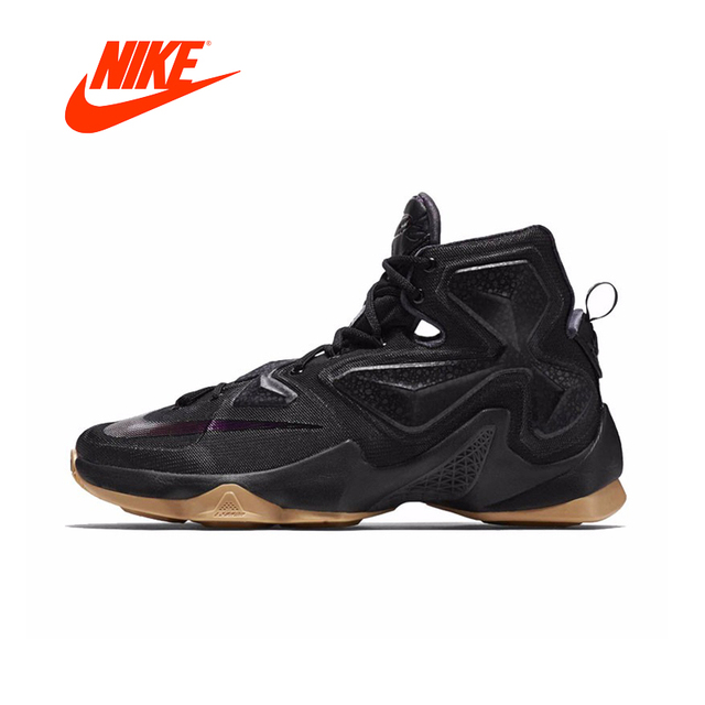 19637ee0544c Original New Arrival Authentic Nike Men s LEBRON EP LBJ 13 High Top  Breathable Cool Basketball Sports Shoes Sneakers