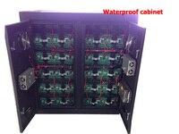 Kaler открытый P10 полноцветный корпус светодиодного дисплея 960*960 мм для ТВ станции Подставки для потолка светодиоидная видеопанель 1/4 сканиро