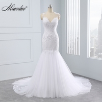 2018 Vintage Backless Mermaid Wedding Dresses Sweetheart Court Train Cap Sleeve Brides Dress Long Bridal Gown Vestido De Novia