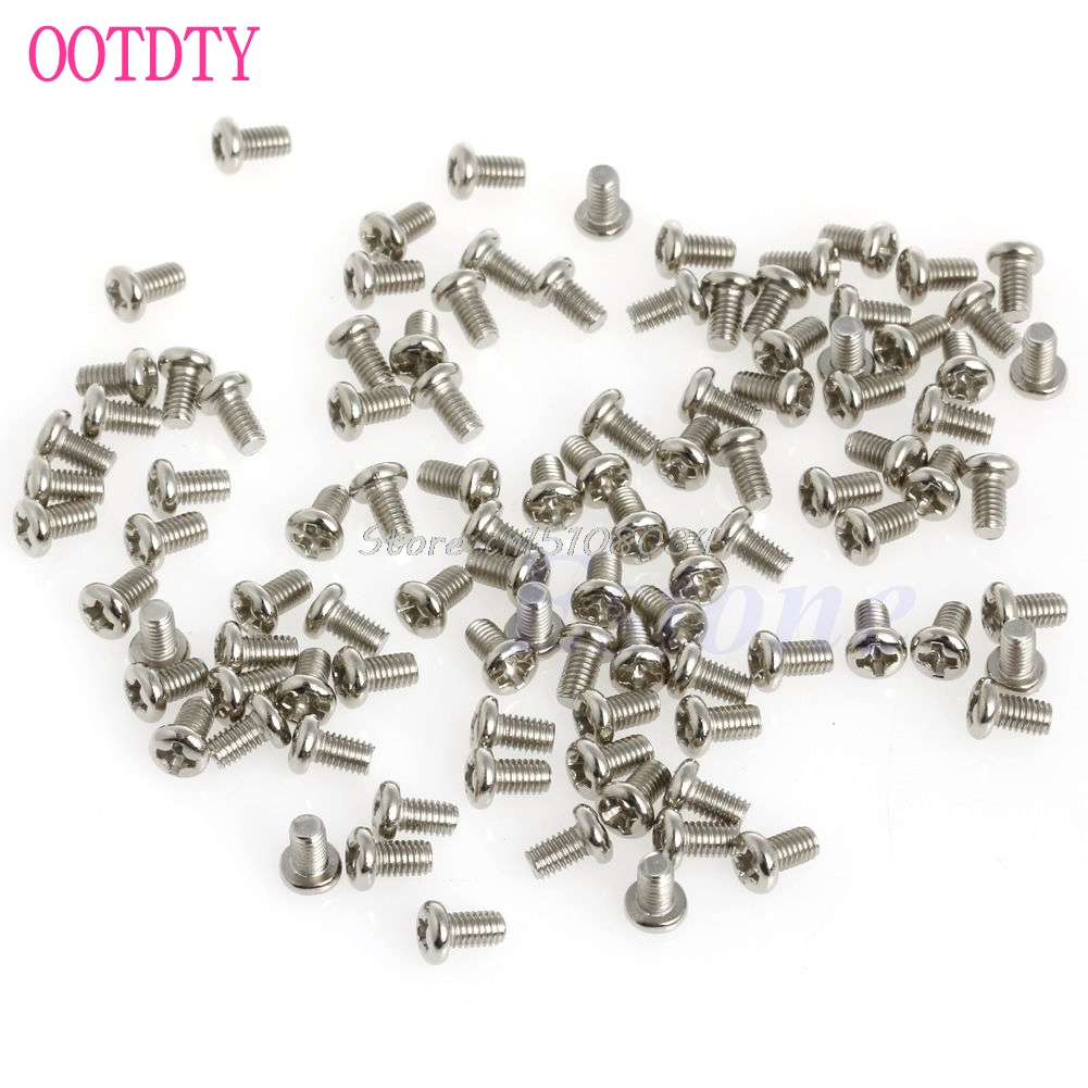 100Pcs Metric M3x5mm Phillips Pan Head Screw for 2.5 HDD SSD DVD-ROM Motherboard #S018Y# High Quality a81 2016 newest 100pcs metric m3x5mm phillips pan head screw for 2 5 hdd ssd dvd rom motherboard free shipping