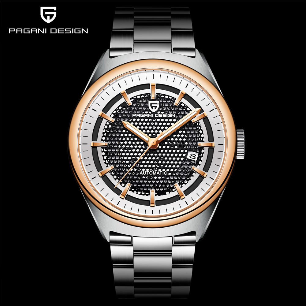 PAGANI DESIGN Men's Classic Skeleton Mechanical Watches Fashion Waterproof Brand Luxury Hollow Automatic Watch Relogio Masculino winner skeleton mechanical watch luxury men black waterproof fashion casual military brand sports watches relogios masculino