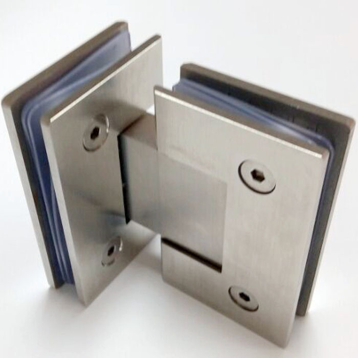 Superbe 180 Degree Shower Room 304 Stainless Steel Glass Clamp Door Hinge DC 1035  Glass To Glass Fitting In Door Hinges From Home Improvement On  Aliexpress.com ...