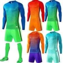 Высокое качество свитера 18 19 пользовательских Футбол форма мужчин и детей с длинным рукавом Футбол training дышащий Наборы Новое поступление QD012