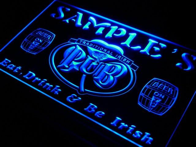 pa tm Name Personalized Custom Irish Pub Shamrock Bar Beer