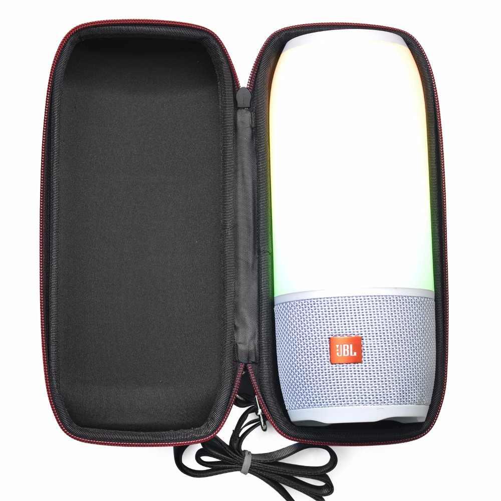 Najnowszy PU Carry ochronna obudowa głośnika skrzynki pokrowiec torba Case do JBL impulsu 3 Pulse3 bezprzewodowy głośnik bluetooth torebka (z pas)