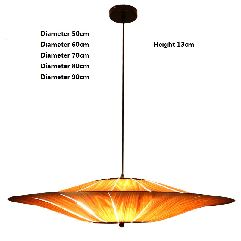 Christmas Decorations Wooden Pendant Lamp For Home Chinese Style Industrial Light Fixtures lampara vintage E27 220V loft lampe