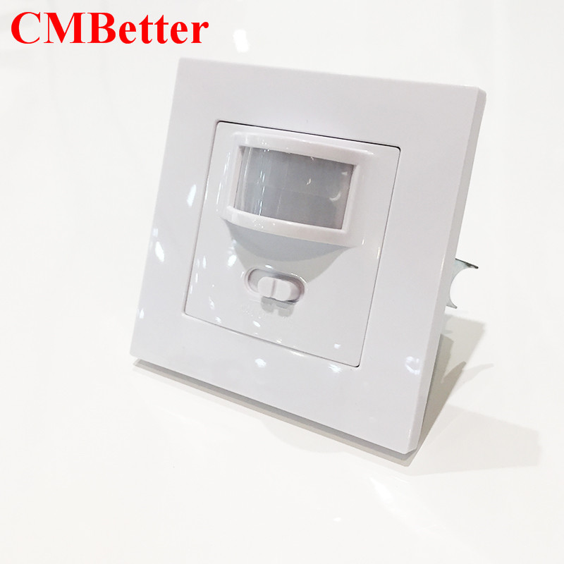 High Quality Auto On/Off Infrared PIR Occupancy Security 110-220v Infrared Motion Sound Sensor Switch Recessed Wall Light CM016 bruce schneier carry on sound advice from schneier on security