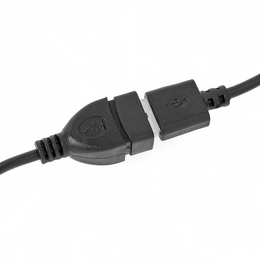 USB 2.0 ذكر إلى أنثى تمديد موسع كابل للكمبيوتر هاتف محمول كمبيوتر محمول 1 متر 3ft