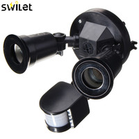 E27 Waterproof Street Lights Switch Double Head Infrared Sensor Switch Infrared PIR Motion Body Sensing Switch