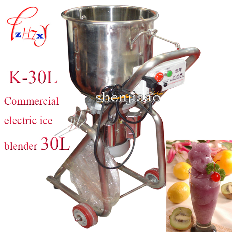 K-30L 220V 1500W Commercial electric 30L ice blender, mixer ice, fruit and amp Commercial ice blender 1pcK-30L 220V 1500W Commercial electric 30L ice blender, mixer ice, fruit and amp Commercial ice blender 1pc