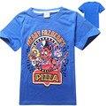 Пять ночей в фредди майка детская одежда мальчиков футболки fnaf с коротким рукавом 2016 лето пятидневное фредди дети т рубашки