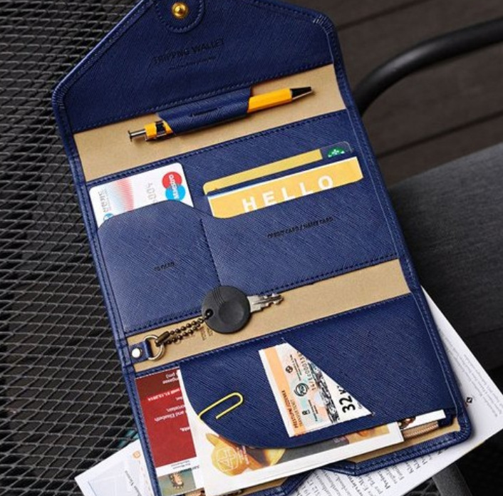 Korean Style Passport Wallet Multifunction Credit Card Package ID Holder Travel Clutch Bag for women and men сон разума