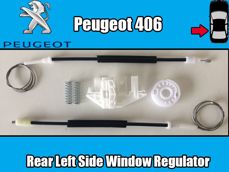 FOR PEUGEOT 406 WINDOW REGULATOR REPAIR KIT REAR LEFT 1995 2004 rear window repair kit rear window repair rear window - title=