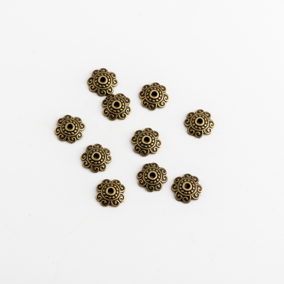 Beads Caps Jewelry Supplies DIY Jewelry Making Findings Handicraft Accessories For Jewelries Needlework #JZ207