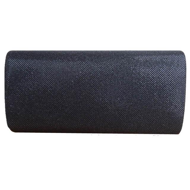 placeholder 2018 Hot Sale Promotion Day Clutches Black Silver Shoulder V  Metal Chain Design Glitter Shine Bag 0f7e7879f1c7