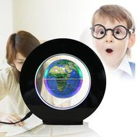 Peradix LED Toy 4.0 Inch Electronic Magnetic Floating Globe Map Office Decoration Business Educational Toys