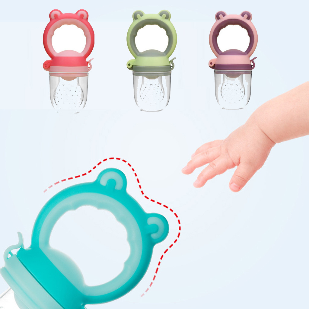 Toddlers Baby Boy GIrl Vegetable Fruit Teether Infant Boys Girls Cartoon Cute Funny Teething Toy Ring Chewable Soother