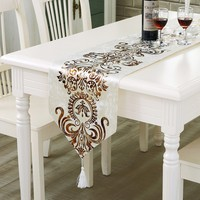 Classic European Table Runner Modern Tea Table Flag Home Party Supplies Wholesales
