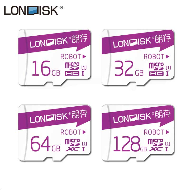 цена на Londisk Micro SD Card 64GB Flash Memory Card 16GB/64GB/128GB Class10 MicroSD 32GB UHS-1 tf card For Smartphone Pad
