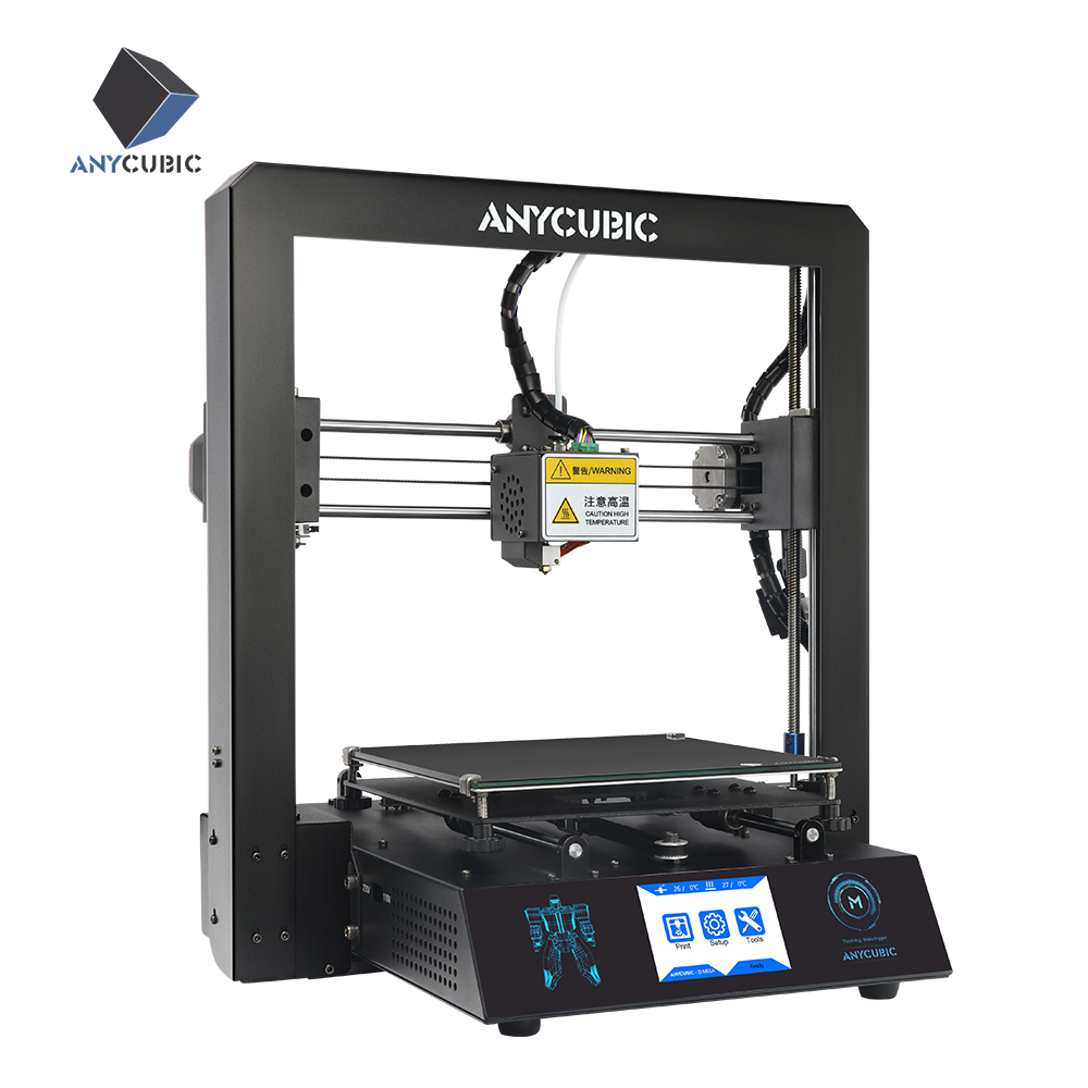 Anycubic I3 Mega 3d printer Plus Size 210 x 210 x 205mm Full Metal Frame TFT