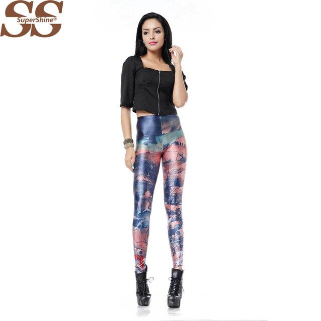 88e75197795 2015 Casual Plus Size Women Leggings Sports Leggins Trousers Pant Calzedonia  Leggings Sport Punk Rock Clothing