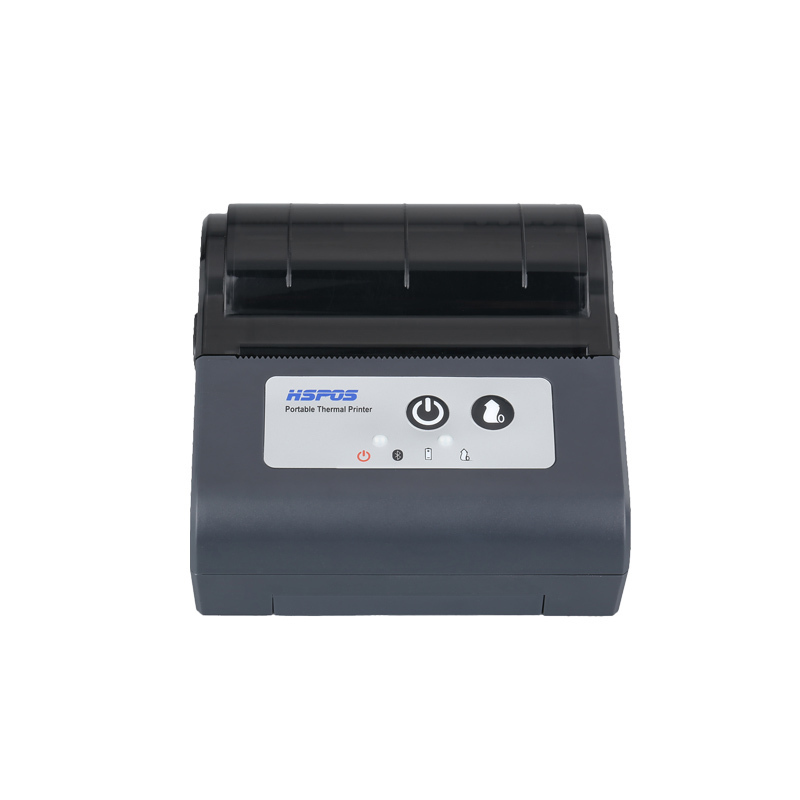 80mm usb thermal receipt portable handheld printer with battery wifi port support multiple smartphone print 88UW