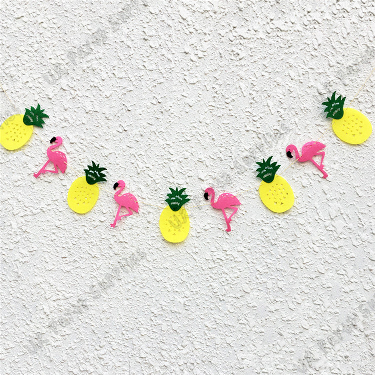 Baby Shower or Birthday Party Dinner Plate 8 Count Flamingo Party Like a Pineapple