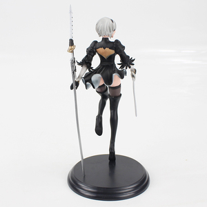 Image 4 - 25cm NieR Automata YoRHa No. 2 Type B 2B Banpresto PVC Action Figure Collection Model Toy Doll Gifts For Kids