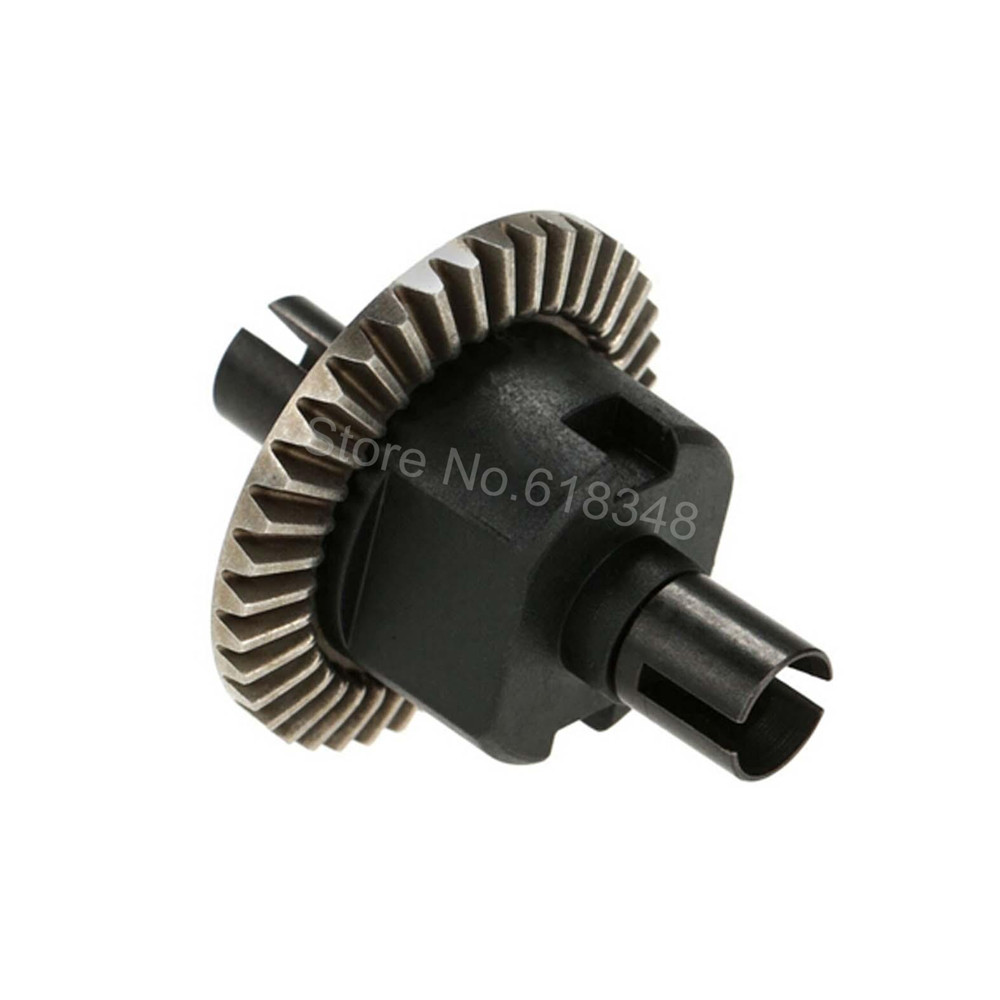 HSP 02024 Differential Diff Gear Complete 38T For 1/10 RC Model Car Spare Parts Fit Buggy Monster 2pcs metal differential driving gear 38t