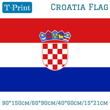 Freeshipping 90*150cm/60*90cm/40*60cm/15*21cm Croatia National Polyester Flag 3x5ft For World Cup / National Day / Olympic Games national day cameroon gifts