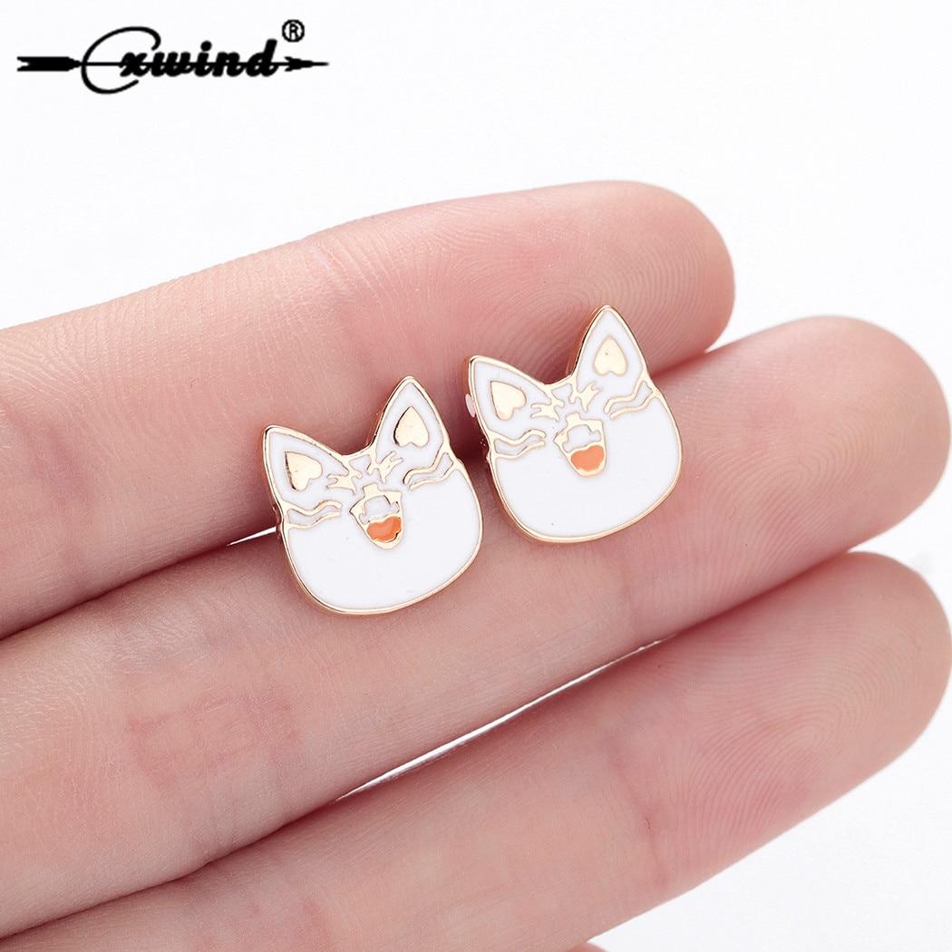 Cat Earrings For Women Kids Cute