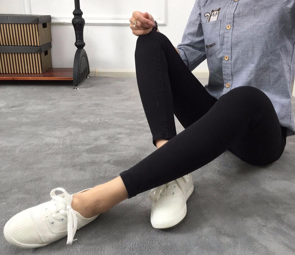 BIVIGAOS Basic Skinny Womens Jeans Ankle Pencil Pants Slim Elastic Denim Pants Jean Leggings Female Cotton Jeggings Jeans Women 19