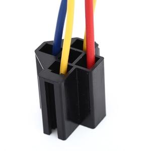 1 шт. водонепроницаемый Prewired 5pin 12В 40А Автомобильный держатель для проводов с релейной розеткой высокого качества