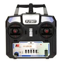Per Flysky FS i4 AFHDS 2A 2.4GHz 4CH Sistema Radio Trasmettitore Ricevitore per RC Elicottero Aliante Drone RC Trasmettitore FS A6